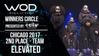 ELEVĀTED | 2nd Place Team Division | Winners Circle | World of Dance Chicago 2017 | #WODCHI17