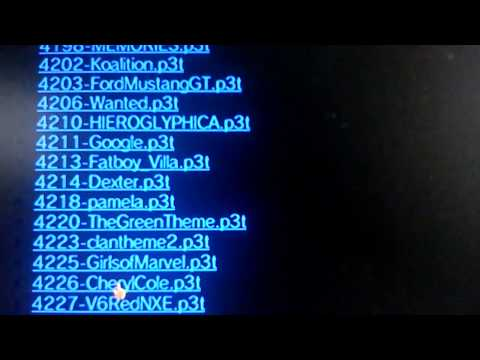 PS3 DOWNLOADS THEMES & MOVIES + MP3 FREE