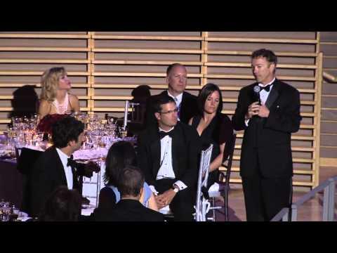 Rand Paul Toasts Henry David Thoreau at TIME 100 Gala
