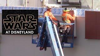 Disneyland - 2/13/18 Star Wars: Galaxy's Edge Construction Update