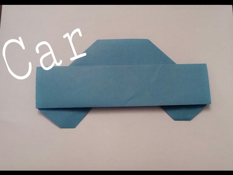 How to make a Origami Car🚗