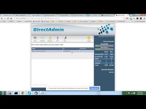 login history hosting linux directadmin- lịch sử truy cập hosting