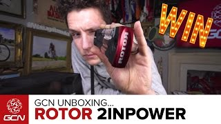Unboxing The Rotor 2INPower Powermeter | Win With GCN!