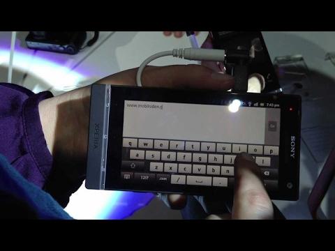 Sony Xperia S første kig