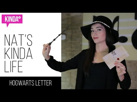 DIY Harry Potter / Hogwarts Acceptance Letter | Nat's Kinda Life | ft. Natasha Negovanlis