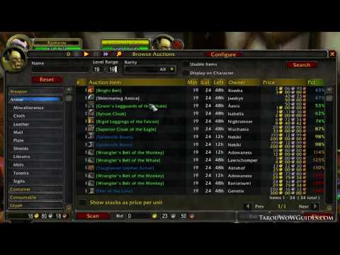 Lowbie Gold Making Guide | Playing the Auction House: 0g~1,719g in a Week! | Patch 3.3.3
