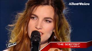 7 Girls Angelic Voice   The Voice   Blind Audition   WorldWide 2017 #part 2