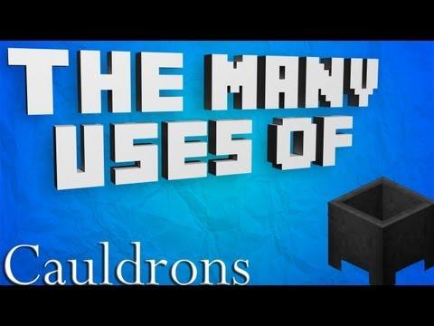 Minecraft - The Many Uses Of: Cauldrons