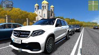 b3642a6b076 City Car Driving 1.5.6 Mercedes-Benz GLS63 AMG V8 BITURBO TrackIR 4 Pro