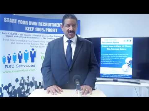 RSU Recruitment Start Up - Recruitment Agency Start Up Online Workshop