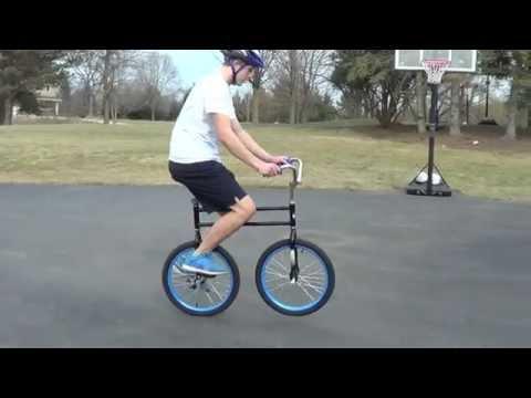 Hoppley Circus Bike and Ultimate wheel unicycle