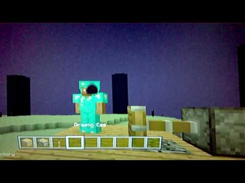 how to collect the Ender Dragon Egg on xbox one