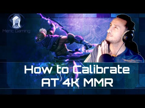 Dota 2 - How to calibrate at 4k in the International Rank