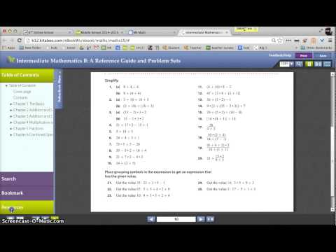 How to lookup answers to online textbook problems