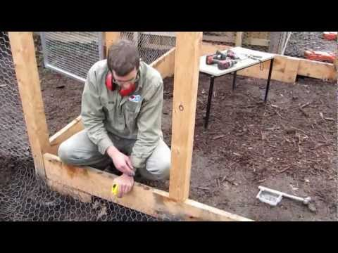 Fox-Proofing a Strawyard with VEG