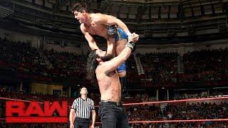 Elias Samson vs. Zac Evans: Raw, May 29, 2017