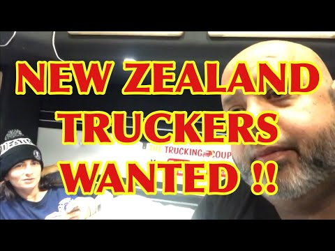 NEW ZEALAND TRUCKERS WANTED!! The Trucking Couple, FedEx Custom Critical, Team Expediting