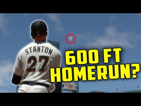CAN I HIT A 600 FT HOMERUN?! MLB The Show 17 Challenge