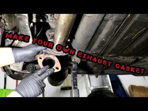 MAKE YOUR OWN EXHAUST GASKET with COPPER