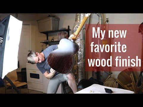 Applying a Tru-Oil Finish on an Acoustic Guitar