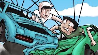 GTA 5 Online Funny Moments! - Automotive Tea Bagging! (GTA Funny Races Rage Moments!)