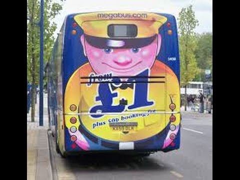 Megabus London to Barcelona For just £1! (Review)
