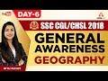 SSC CGL/CHSL 2018 | Geography | Day 6 | General Awareness | Ritu Ma'am | 1 P.M