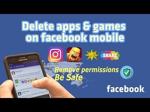 How to check and remove connected apps from Facebook account  on android