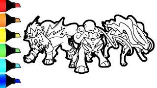 pokemon coloring pages pansage black - photo#44
