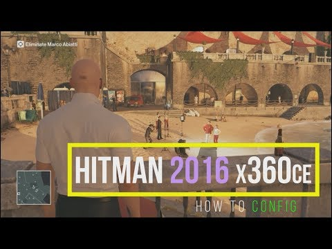 HITMAN 2016 using x360ce || verified link in description ||