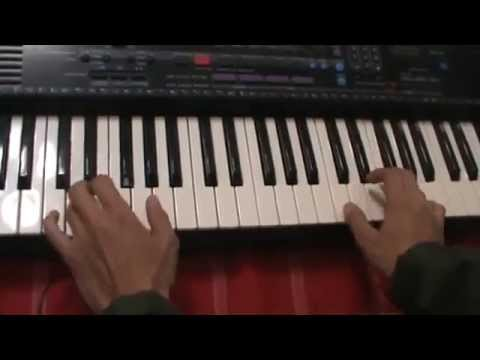 How to play piano with both hands (exercise)  Easy Beginner   Learn Piano 2DAY