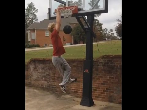 Dunking - the day after football season