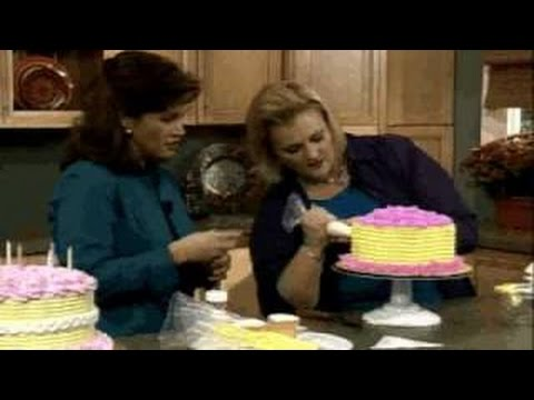 How to Make and Decorate a World of Swirls Cake by Wilton
