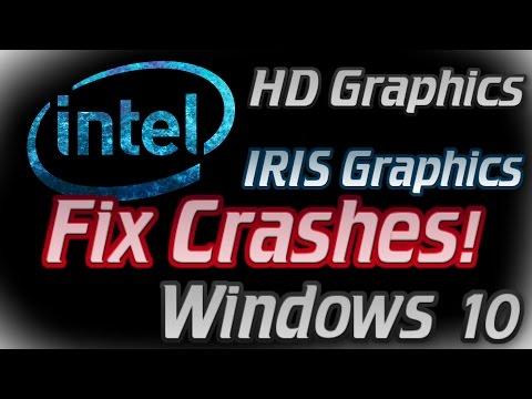 FIX CRASHES on intel hd Graphics and iris, Windows 10 stop working, Solution, Fix, DirectX error,