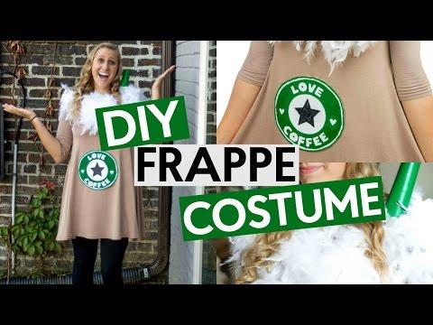 DIY Frappe Inspired Costume