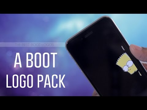 A Boot Logo Pack - Customize Your Boot Logo - Best Jailbreak Tweaks for iPhone and iPod