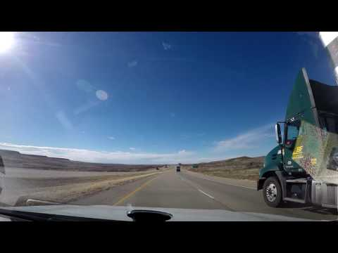 The drive across America