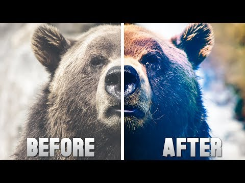 How To Make Pictures Look Cinematic EASILY! - Photoshop CC 2017 - Tutorial #11