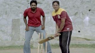 Download Most Funny Scene | Vijay's Cricket Play With Friends - Naduvula Konjam Pakkatha Kaanom Movie Scene Video