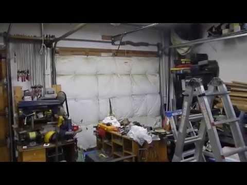 Installed Chamberlain 3 4hp Whisper Belt Drive Garage Door Opener