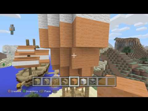 Minecraft:How to build stampys hot air ballon