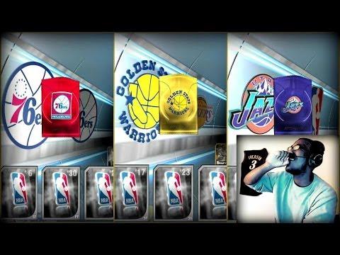 NBA 2K14 Next Gen MyTEAM - FACECAM Historic Pack Opening! Spending Over 185K VC! PS4