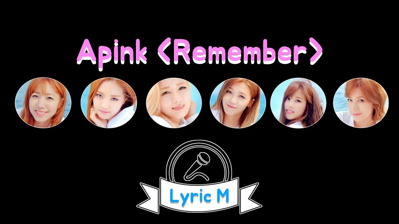 [ M] Apink - Remember, 에이핑크 - 리멤버