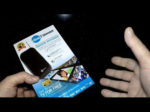 Clear TV HD Black Box Antenna Setup + Review