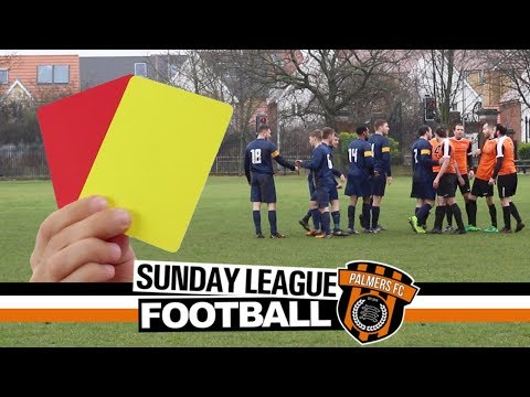 Sunday League Football - YELLOW OR RED?