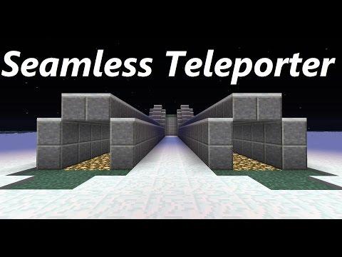 Minecraft Command Block Tutorial SeamlessTeleporter