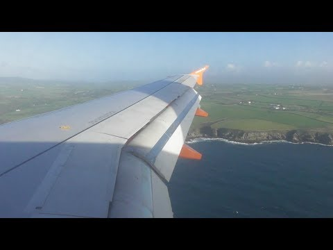 Easyjet Airbus A319-111 | London Gatwick to Isle of Man *FULL FLIGHT*