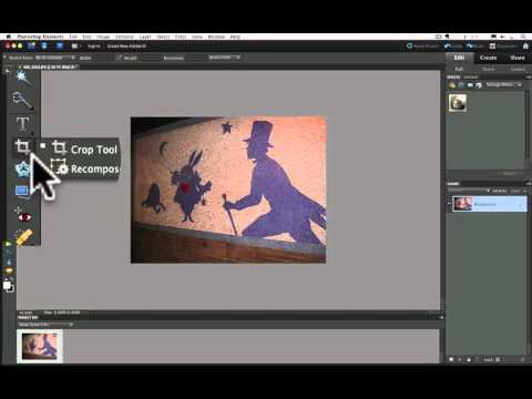Photoshop Elements Tutorials- Size For Prints