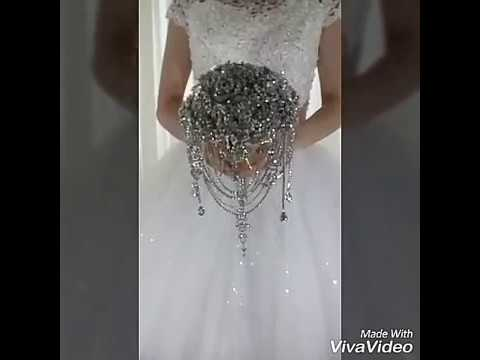 The most luxury brooch bouquets made by MemoryWedding.