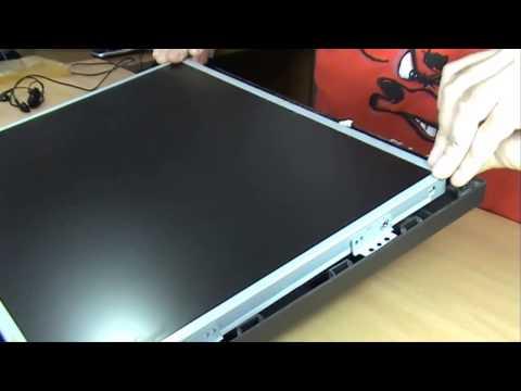Tutorial Desmontar reparar Monitor PC, Pantalla LCD, y Volver a Montarla. Monitor